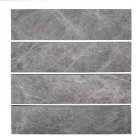 Jeffrey Court Tundra Grey 3 in. x 12 in. Marble Field Wall ...