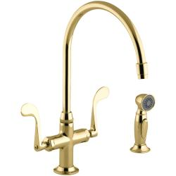 Small Crop Of Brass Kitchen Faucet
