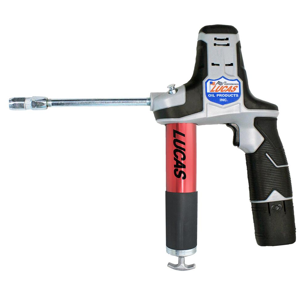 Electric Grease Gun Lucas Oil Cordless Grease Gun