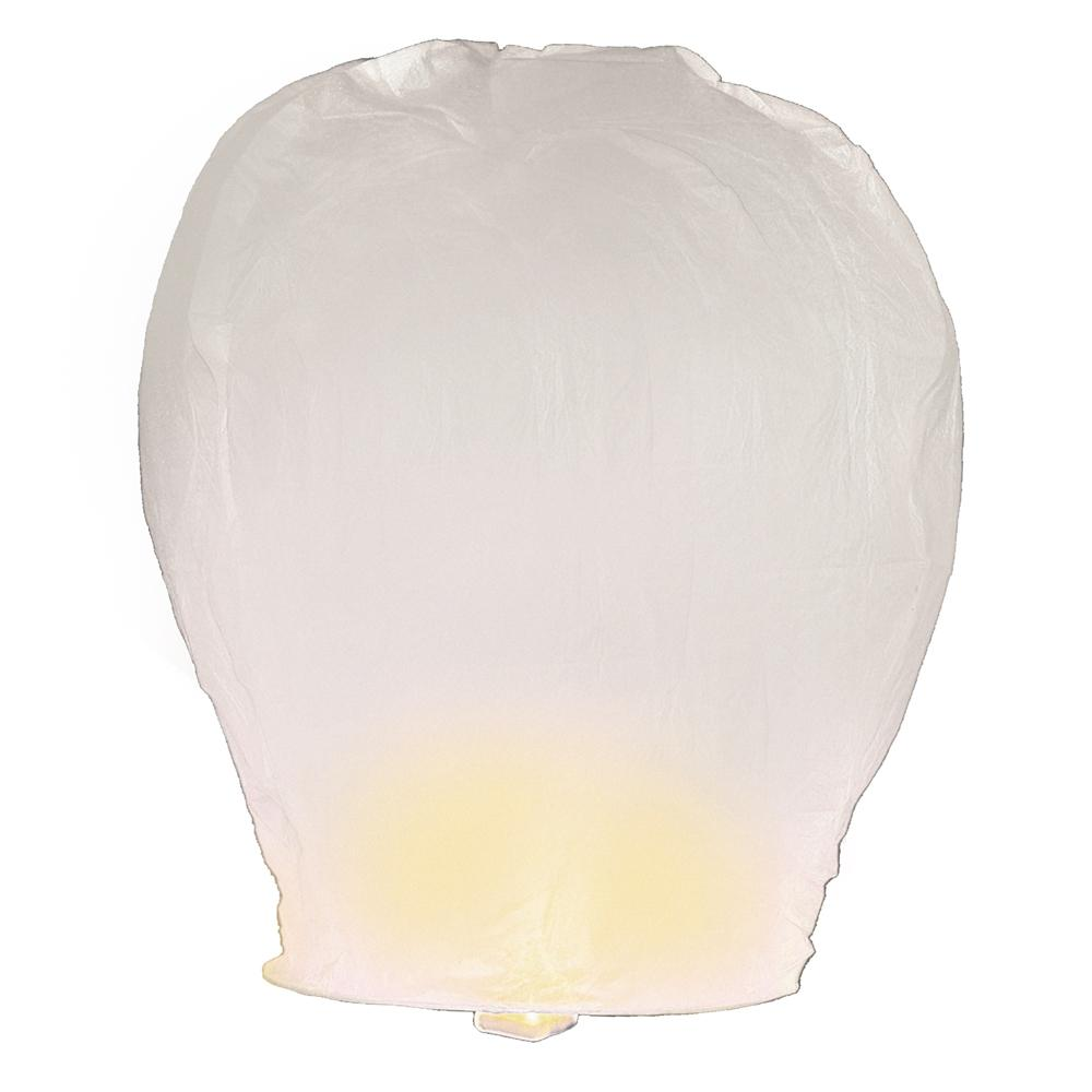 Paper Lanterns Melbourne Lumabase Sky Lanterns 4 Ct White