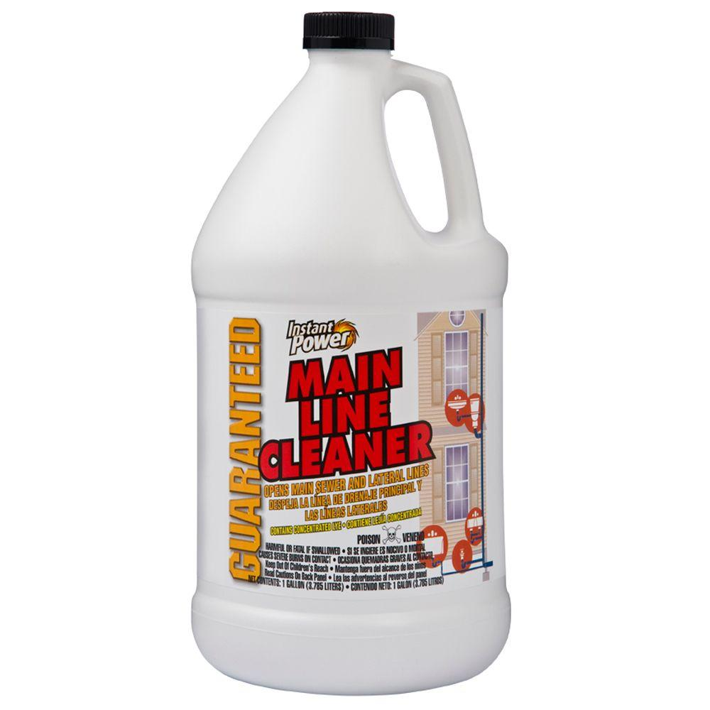 Sewage Cleaner Instant Power 128 Oz Main Line Cleaner