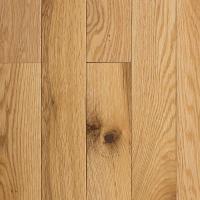 Blue Ridge Hardwood Flooring Red Oak Natural 3/4 in. Thick ...