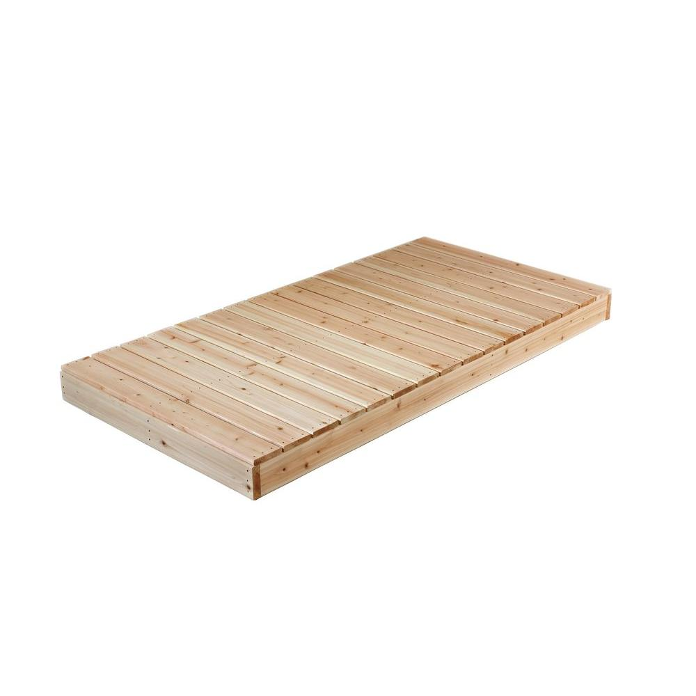 Decking Panels 4 Ft X 8 Ft Cedar Dock Kit