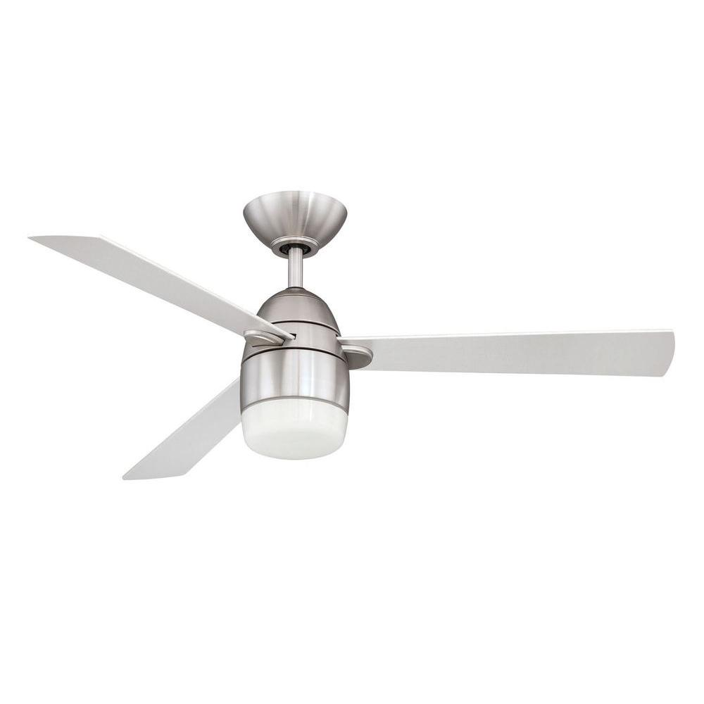 Modern Contemporary Ceiling Fans Filament Design Cassiopeia 42 In Satin Nickel Indoor Ceiling Fan