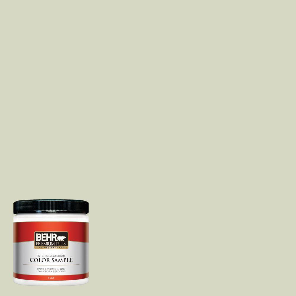 Feng Sui Behr Premium Plus 8 Oz S370 2 Feng Shui Flat Interior Exterior Paint And Primer In One Sample