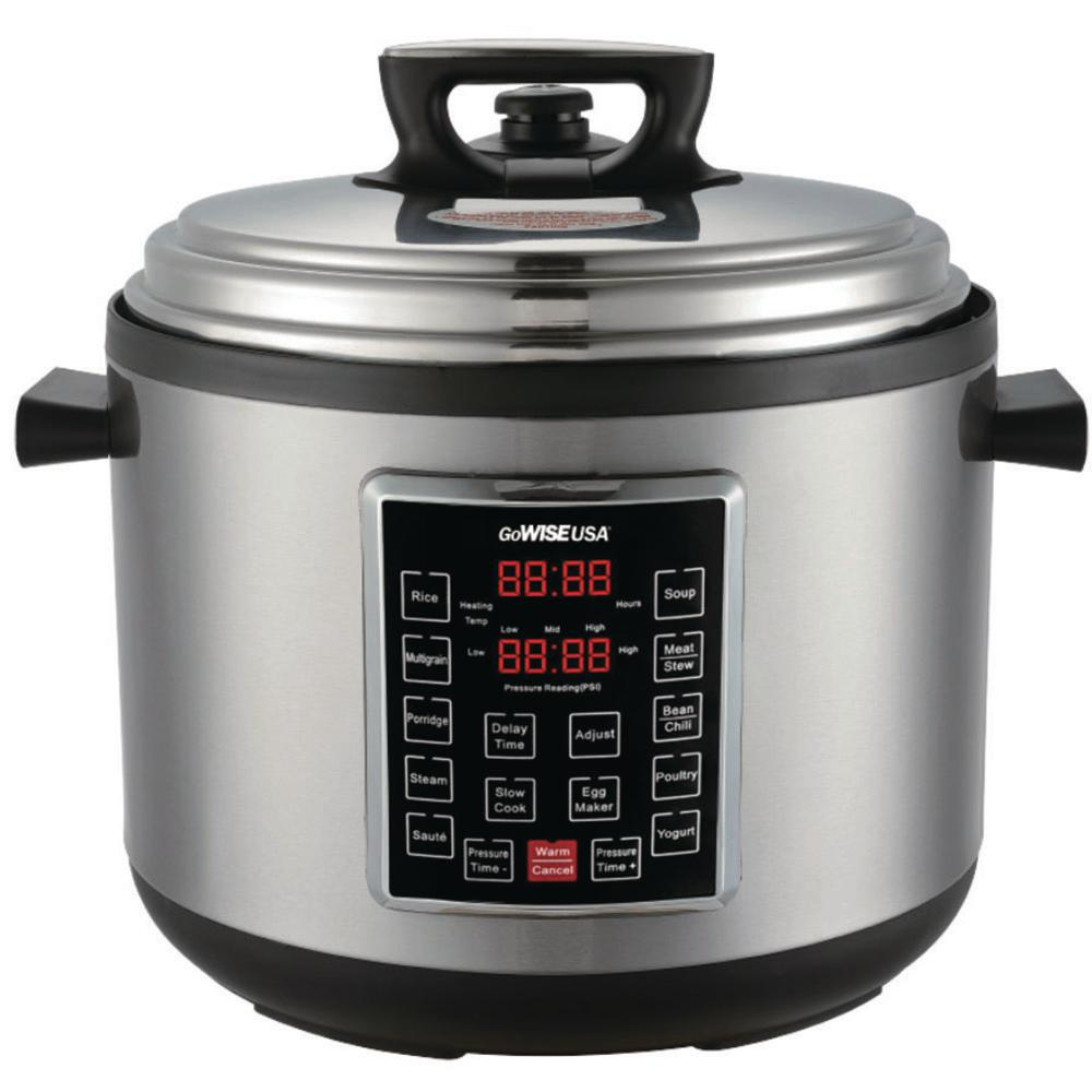 Big W Pressure Cooker Gowise Usa 14 Qt Electric Pressure Cooker Xxl With 12 Presets