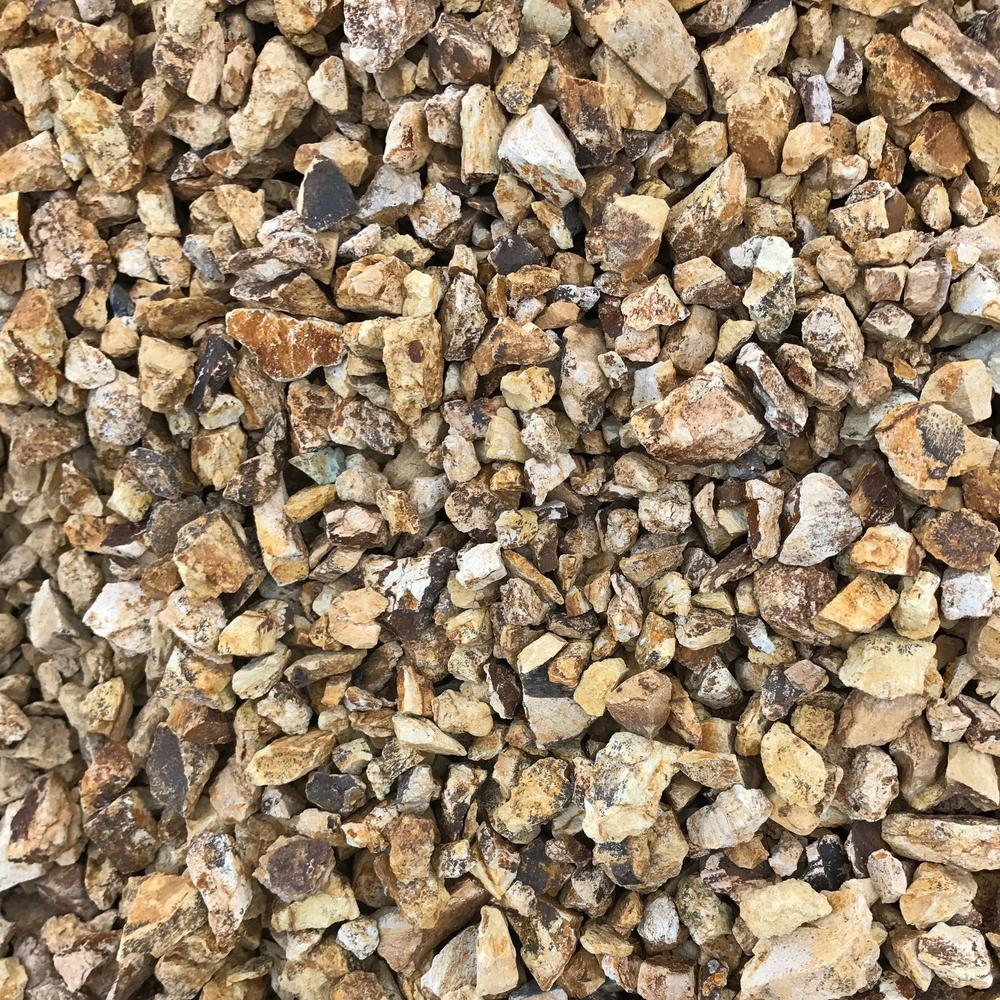 Pea Gravel Home Depot Butler Arts 50 Cu Ft 40 Lbs 3 4 In To 1 1 2 In California Gold Landscaping Gravel