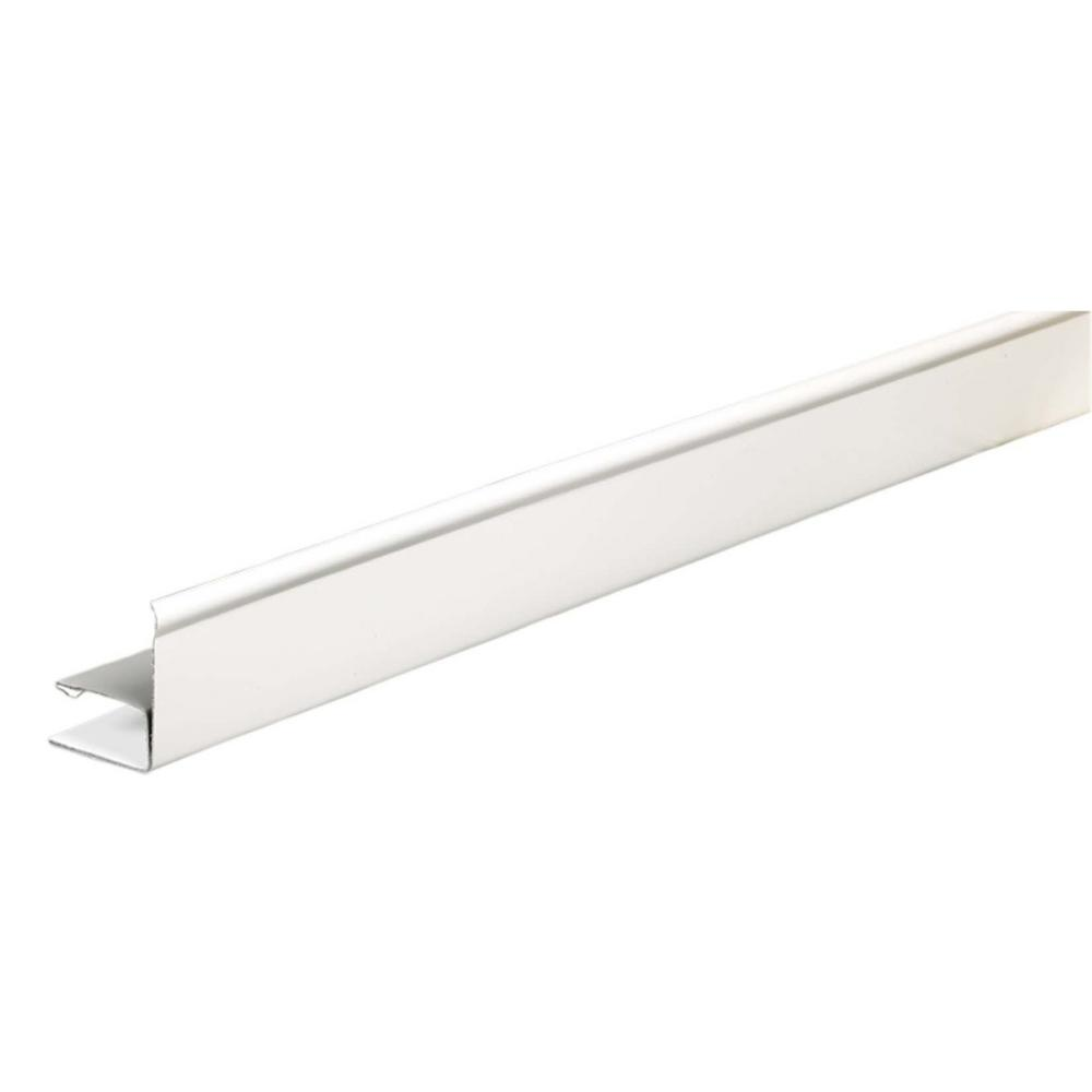 White Runner Amerimax Home Products 1 In X 144 In Fascia Runner