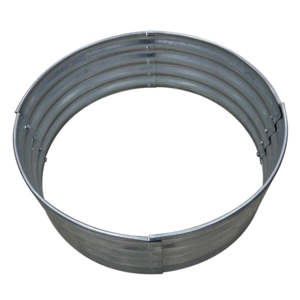 Home Depot Fire Pit 36 In Galvanized Round Fire Ring