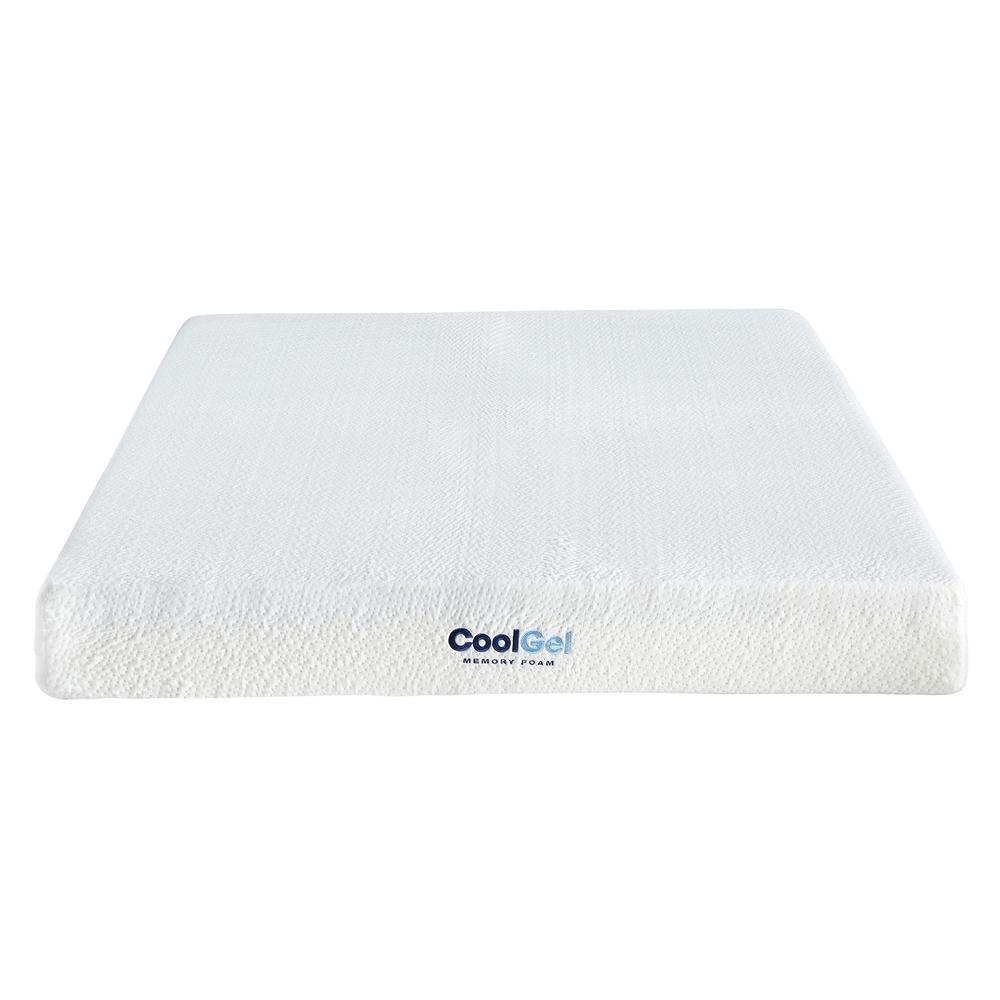 Memory Foam Mattress Guide Cool Gel Cool Gel Twin Size 8 In Gel Memory Foam Mattress 410069