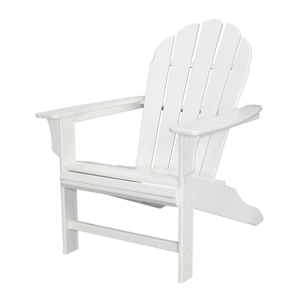 Trex Outdoor Furniture Hd Classic White Patio Adirondack