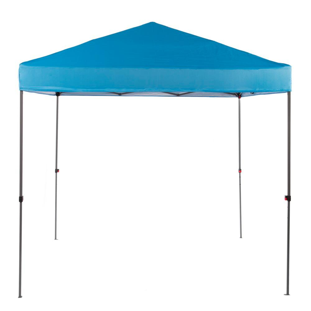 Pop Up Sun Shelter Canada Everbilt Ns G64 B 8 Ft X 8 Ft Blue Straight Leg Instant Canopy Pop Up Tent