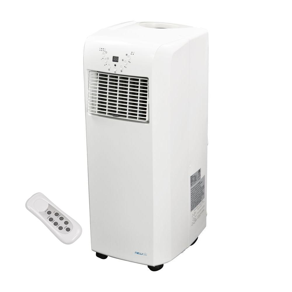 Portable Ac Home Depot Newair Ultra Compact 10 000 Btu Portable Air Conditioner With Dehumidifier