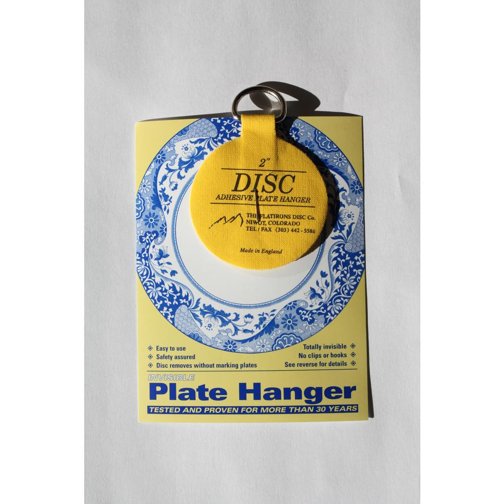 Glass Plate Hanger 2 In Invisible Disc Plate Hangers 10 Pack
