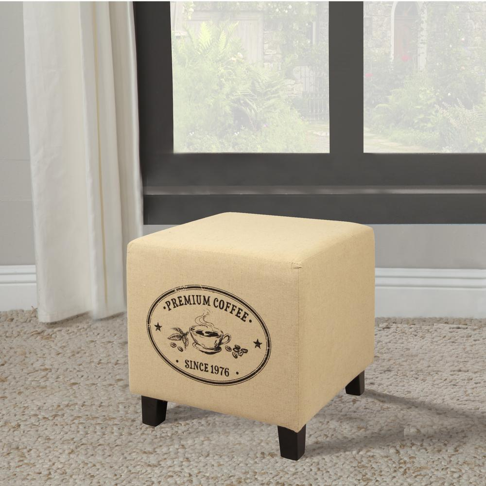Recycle Furniture Vintage Recycle Beige A Coffee Design Ottoman