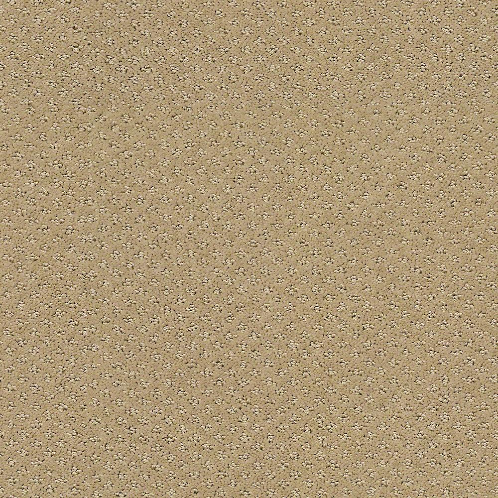 Patterned Carpet Carpet Sample Circuit Color Straw 8 In X 8 In
