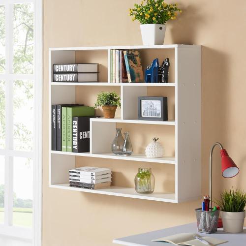 Medium Of Long Floating Wall Shelves
