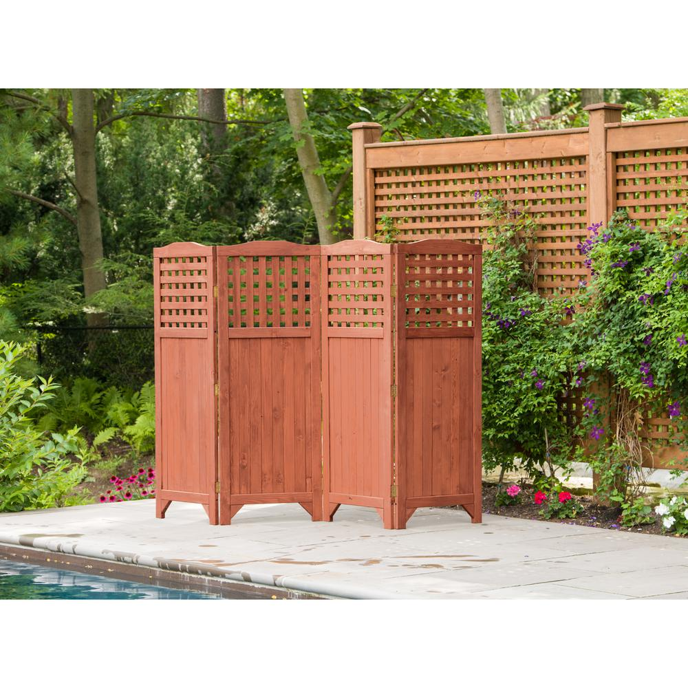 Privacy Screens Outdoor Leisure Season Folding Patio And Garden Privacy Screen