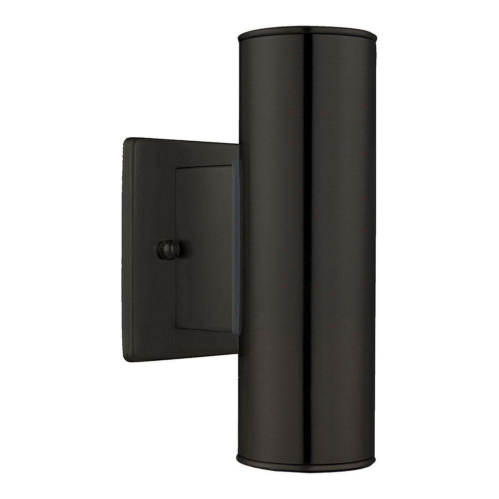 Eglo Riga Led Outdoor Wall Light Eglo Riga 2 Light Black Outdoor Wall Lantern Sconce