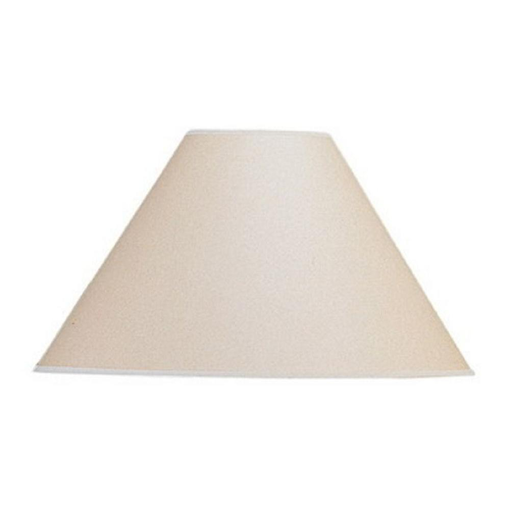 Paper Light Shades Cal Lighting 9 25 In Oatmeal Paper Shade