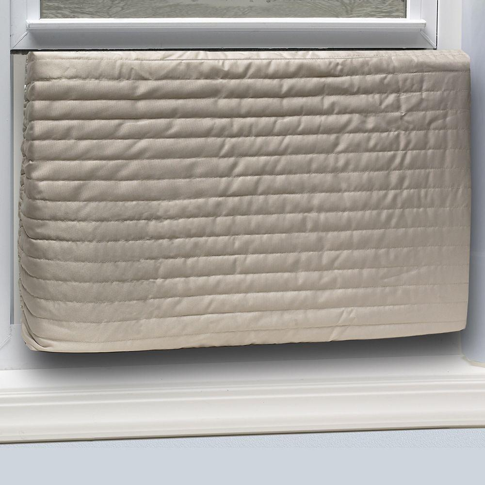 Air Conditioning Covers Frost King E O 17 In X 25 In Inside Fabric Quilted Indoor Air Conditioner Cover