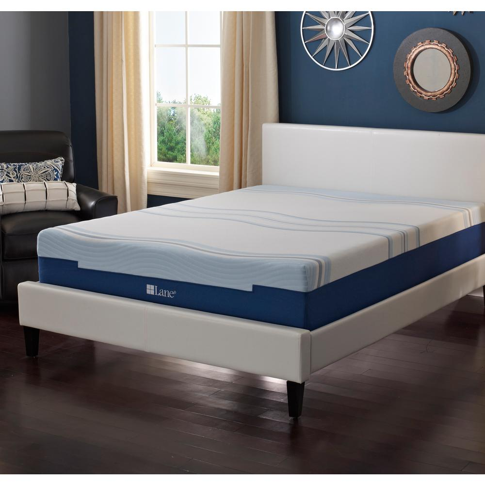 Foam Or Latex Mattresses Lane 12 In Full Latex Gel Foam Mattress