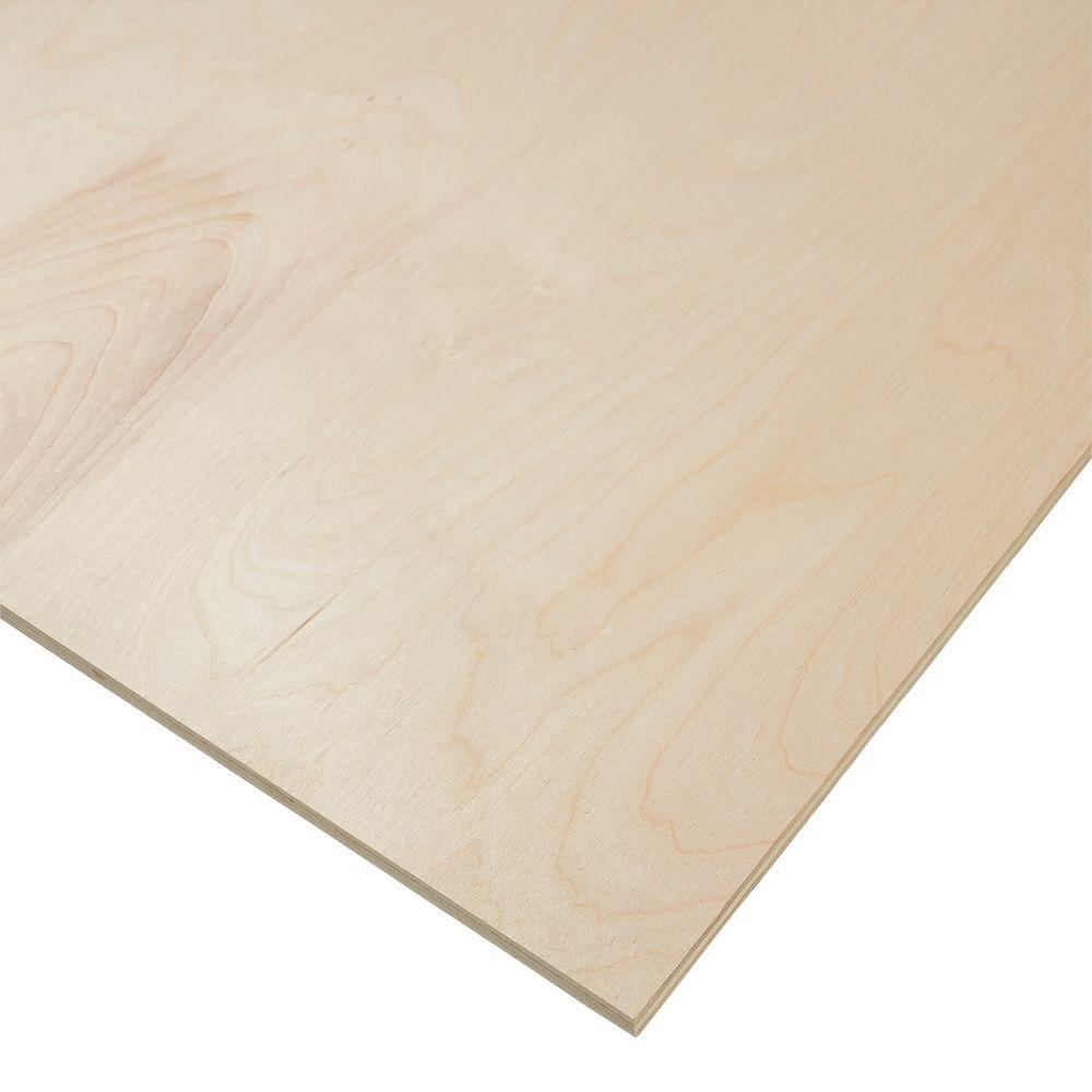 Half Inch Plywood Columbia Forest Products 1 2 In X 4 Ft X 8 Ft Purebond Birch Plywood
