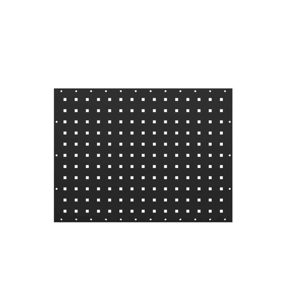 Peg Board Canada 18 In H X 24 In W Steel Flange Pegboard Wall Panel Set 2 Pack