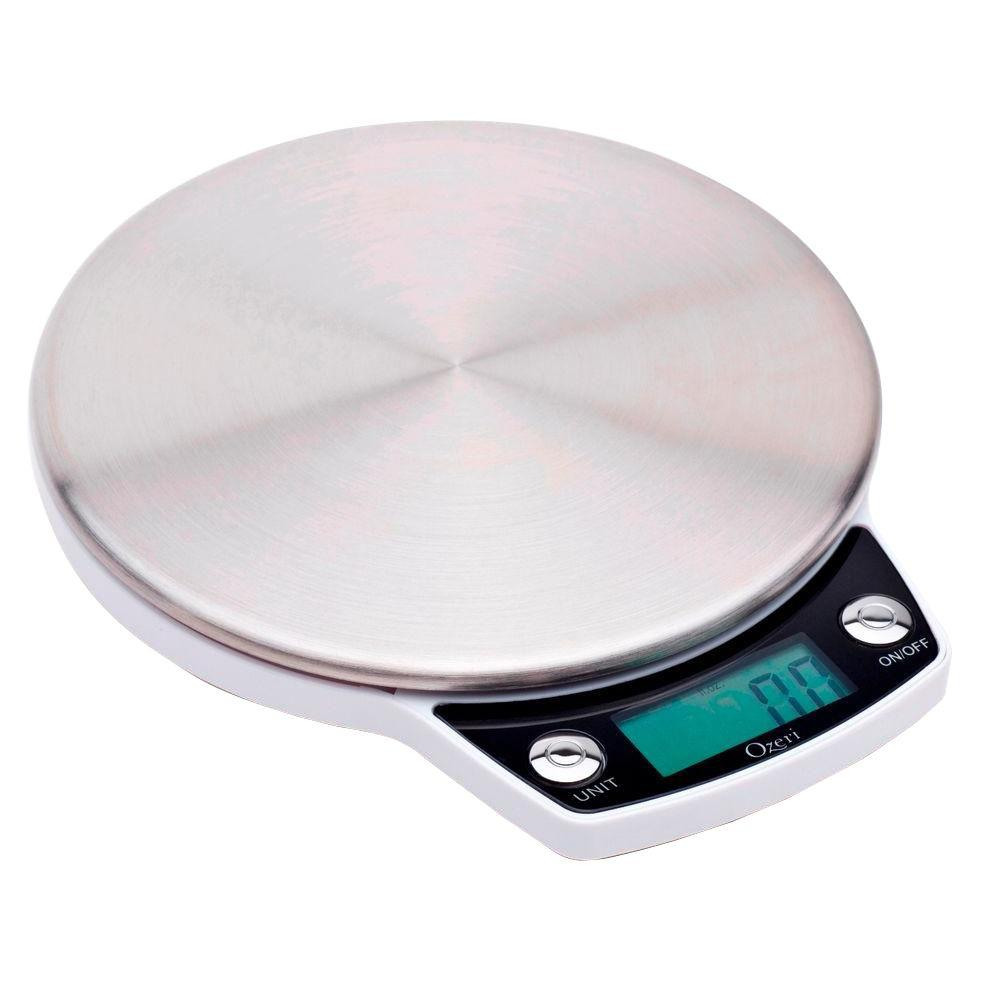 Precision Scale Ozeri Precision Pro Stainless Steel Digital Kitchen Scale With Oversized Weighing Platform
