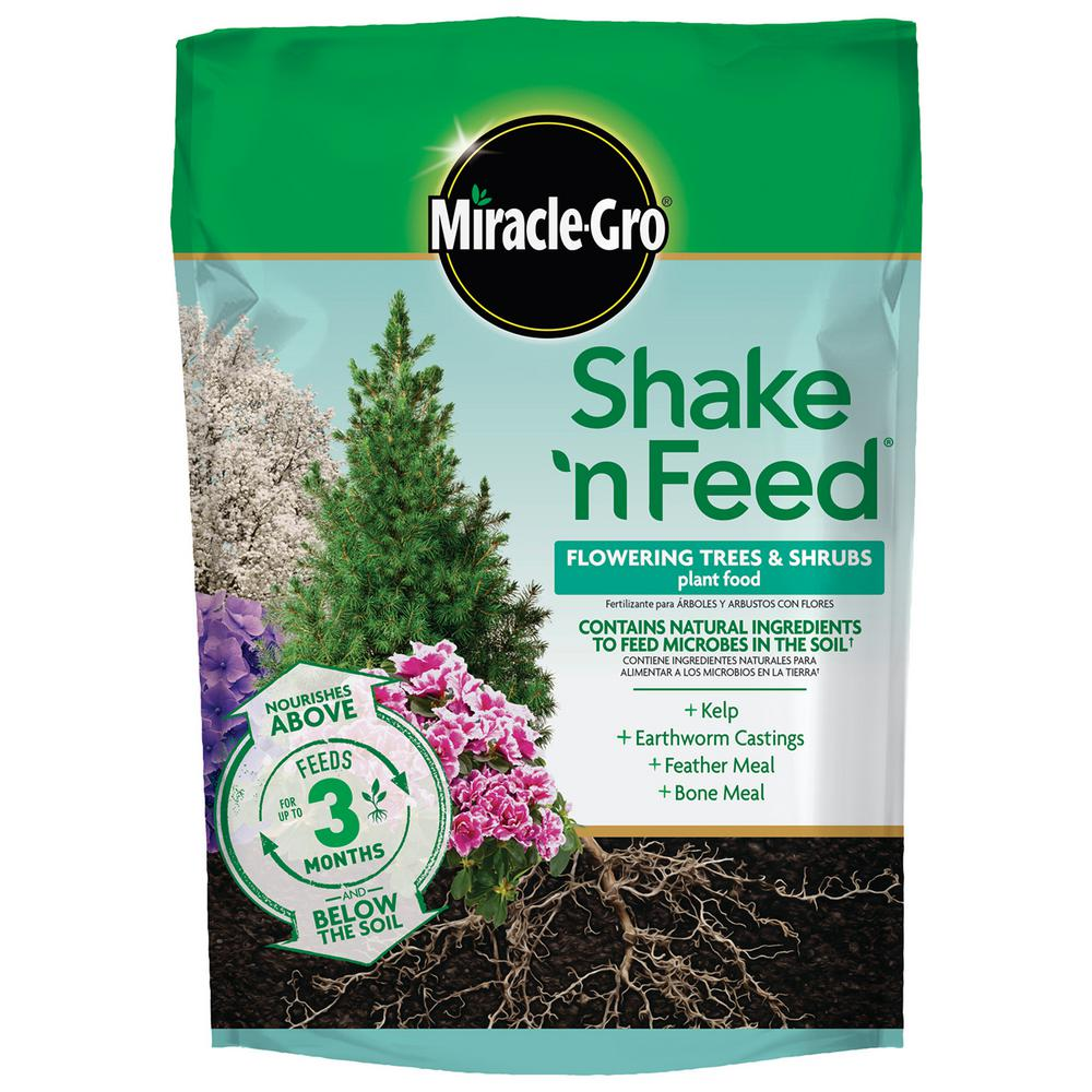 Trees And Shrubs Miracle Gro Shake N Feed 8 Lbs Tree And Shrub Plant Food