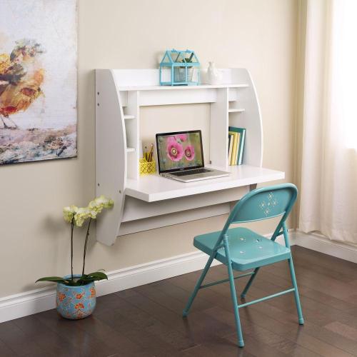 Medium Crop Of White Hanging Book Shelf