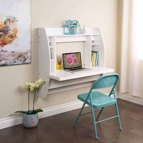 Medium Of White Hanging Book Shelf