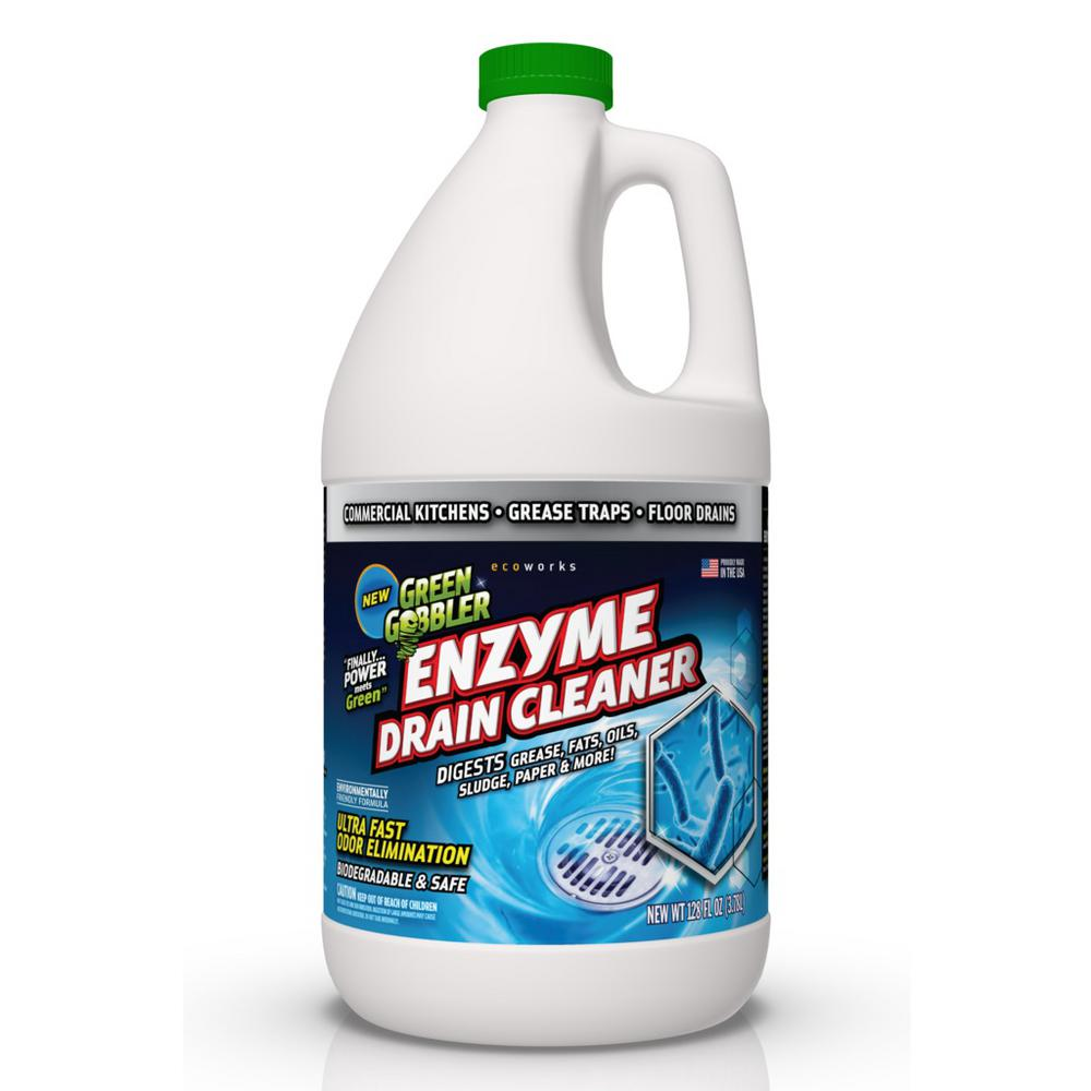 Sewage Cleaner Green Gobbler 1 Gal Enzyme Drain Cleaner