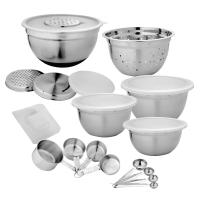 21-Piece Stainless Steel Mixing Bowl Set-HDM 002 - The ...