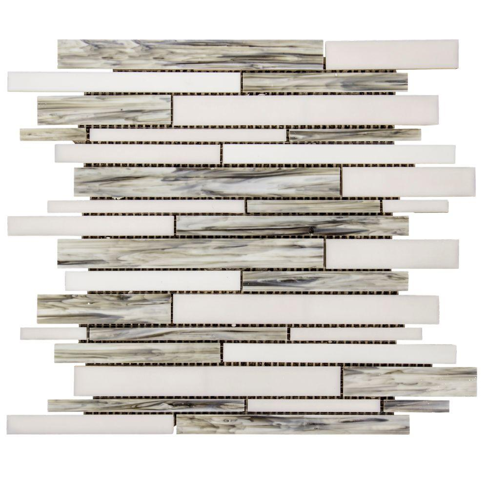 8 Mm Jeffrey Court Coastal Skies 14 In X 11 75 In X 8 Mm Glass Mosaic Wall Tile