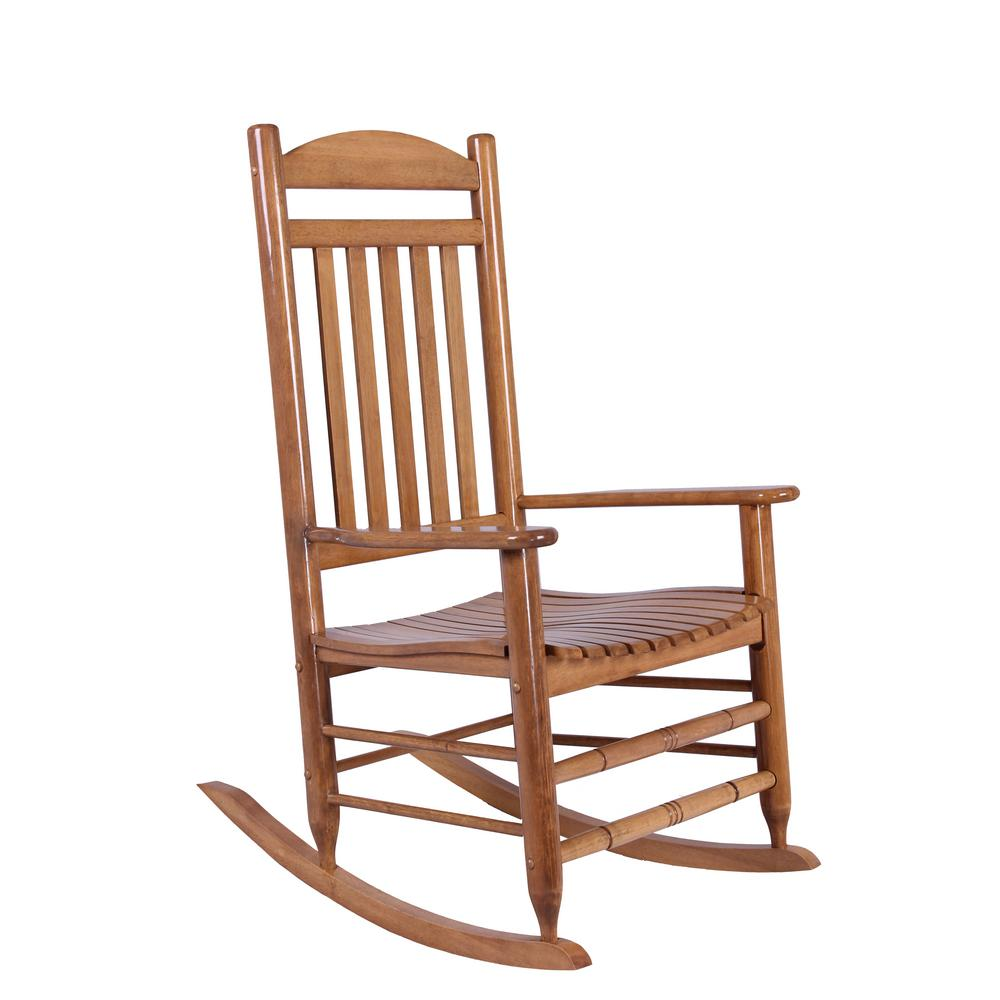 Best Place To Buy Rocking Chairs Hampton Bay Natural Wood Rocking Chair