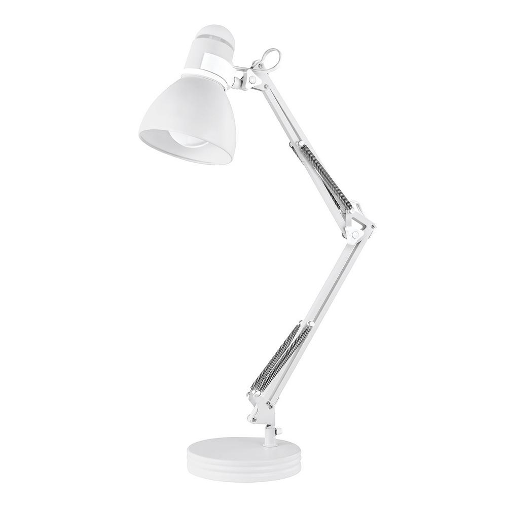 Desk Lamp Globe Electric Architect 28 In Matte White Desk Lamp