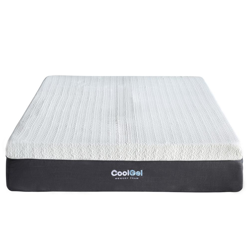 Memory Foam Mattress Guide Cool Gel Cool Gel Queen Size 12 In Gel Memory Foam Mattress