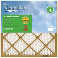 NaturalAire 14 in. x 30 in. x 1 in. Standard FPR 4 Pleated ...