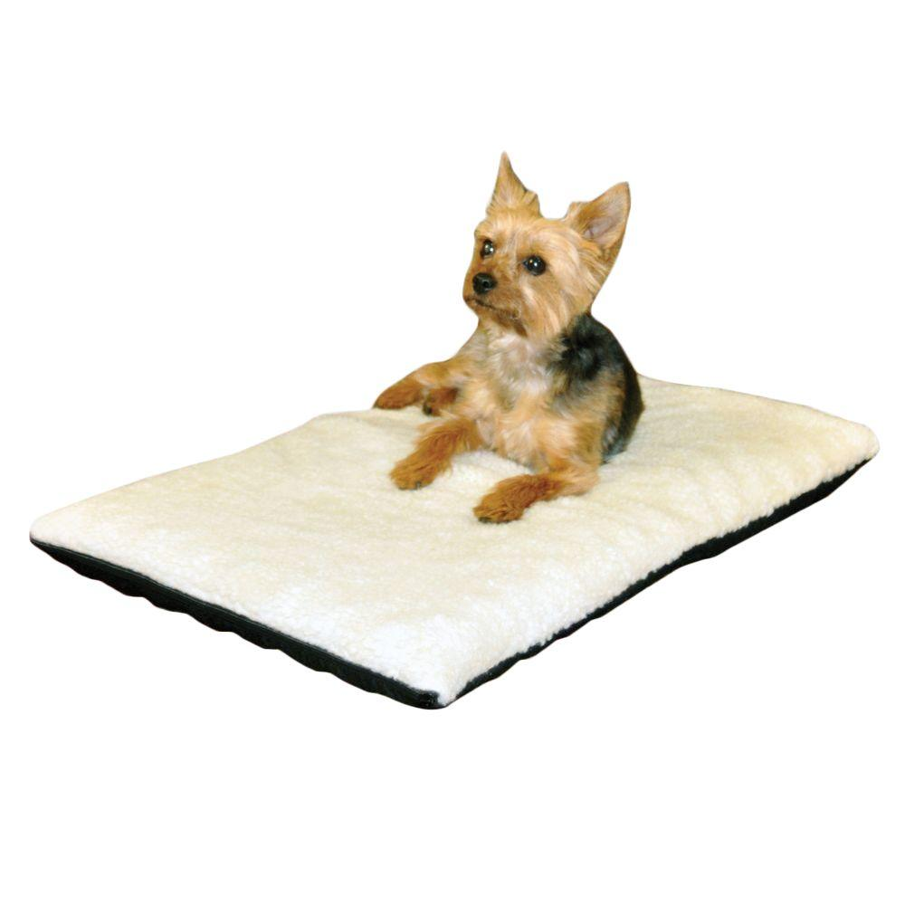 Dog Beds Pet Ortho Thermo Medium Cream Non Slip Heated Dog Bed