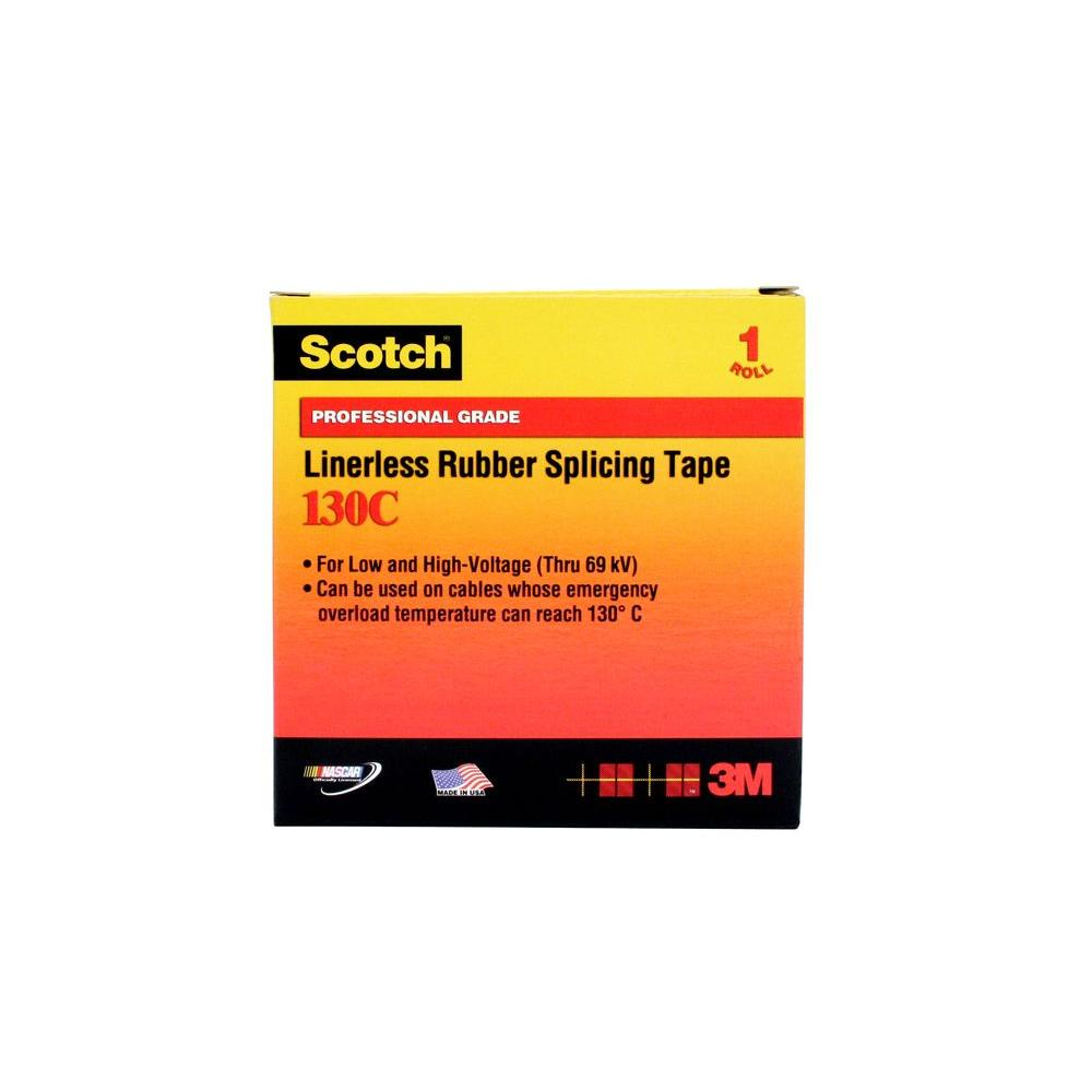 Splicing Tape 3m Scotch 3 4 In X 30 Ft Linerless Rubber Splicing Tape