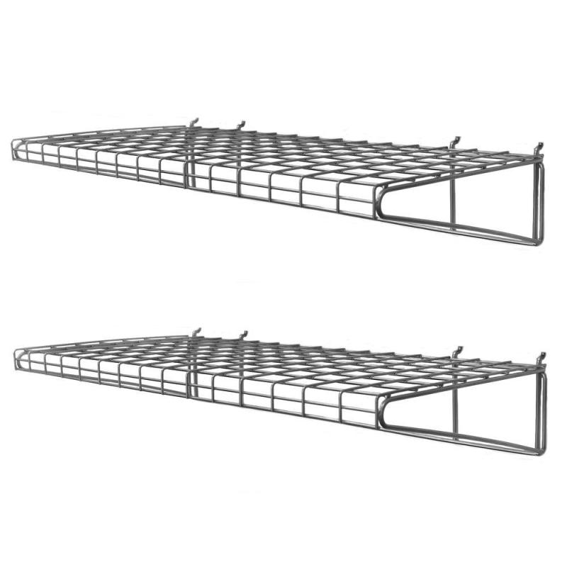 Large Of Wall Mounted Wire Shelving