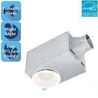 Delta Breez 80 CFM Recessed Ceiling Bathroom Exhaust Fan ...