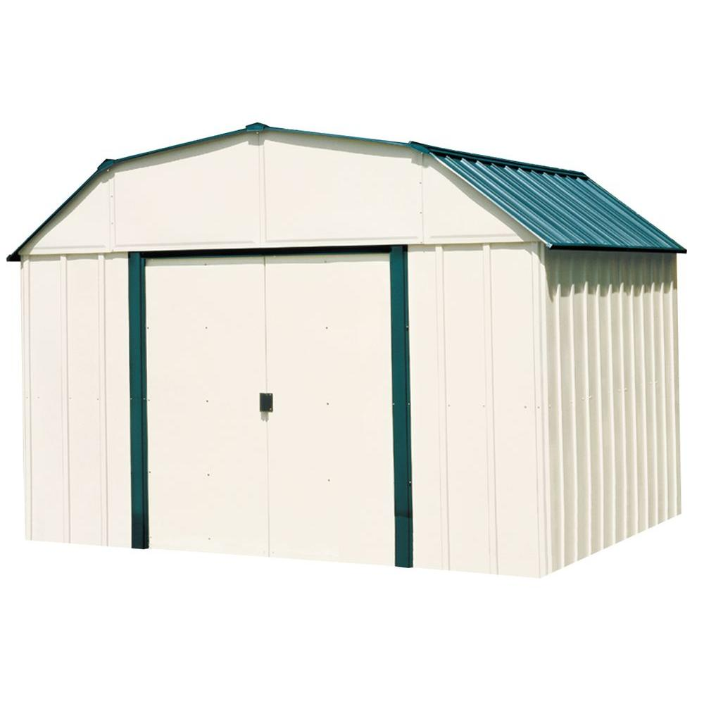 Steel Storage Sheds Arrow Sheridan 10 Ft X 8 Ft Steel Storage Shed