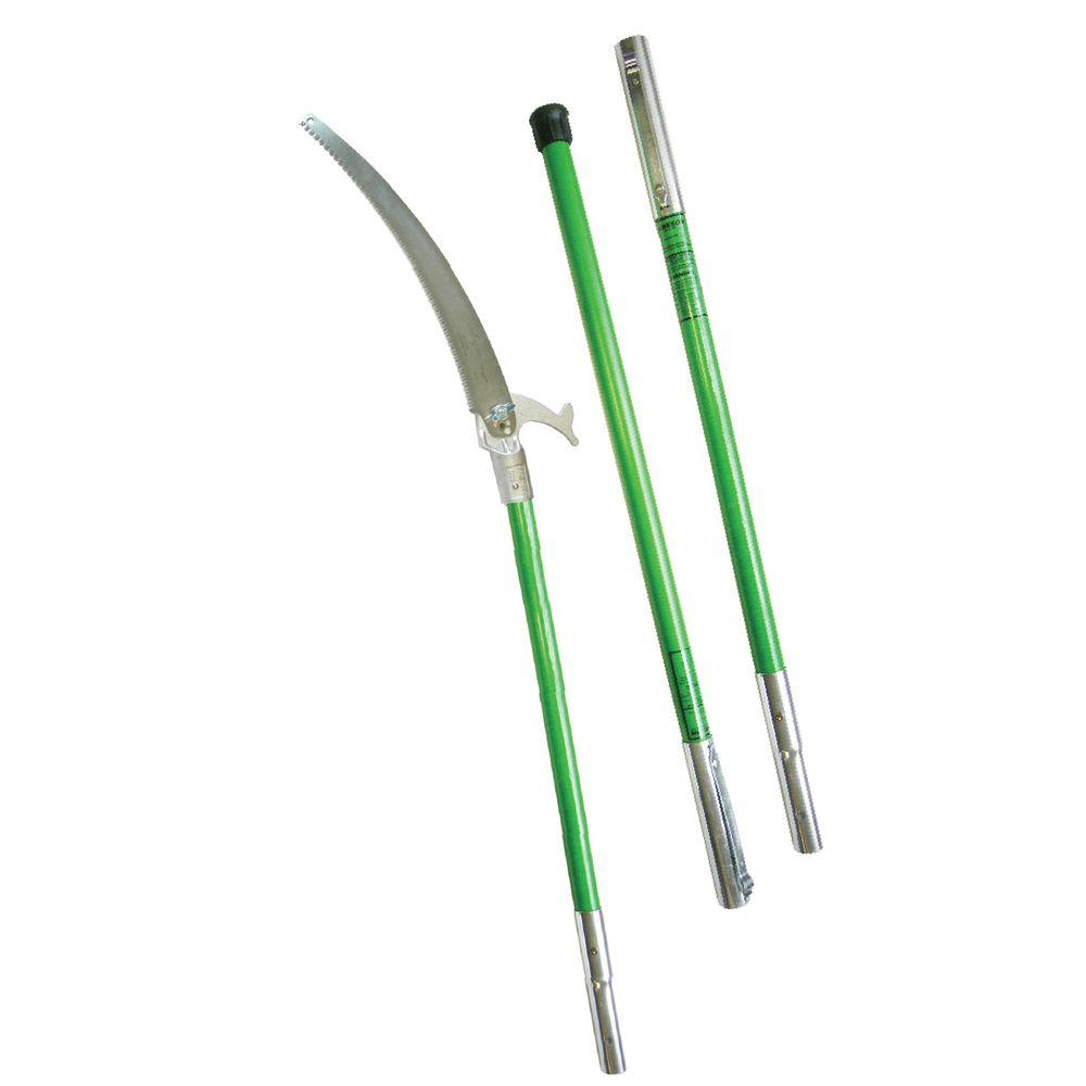 Tree Pruning Tools Jameson 16 In Tri Cut Pruning Saw With 3 Fiberglass Poles