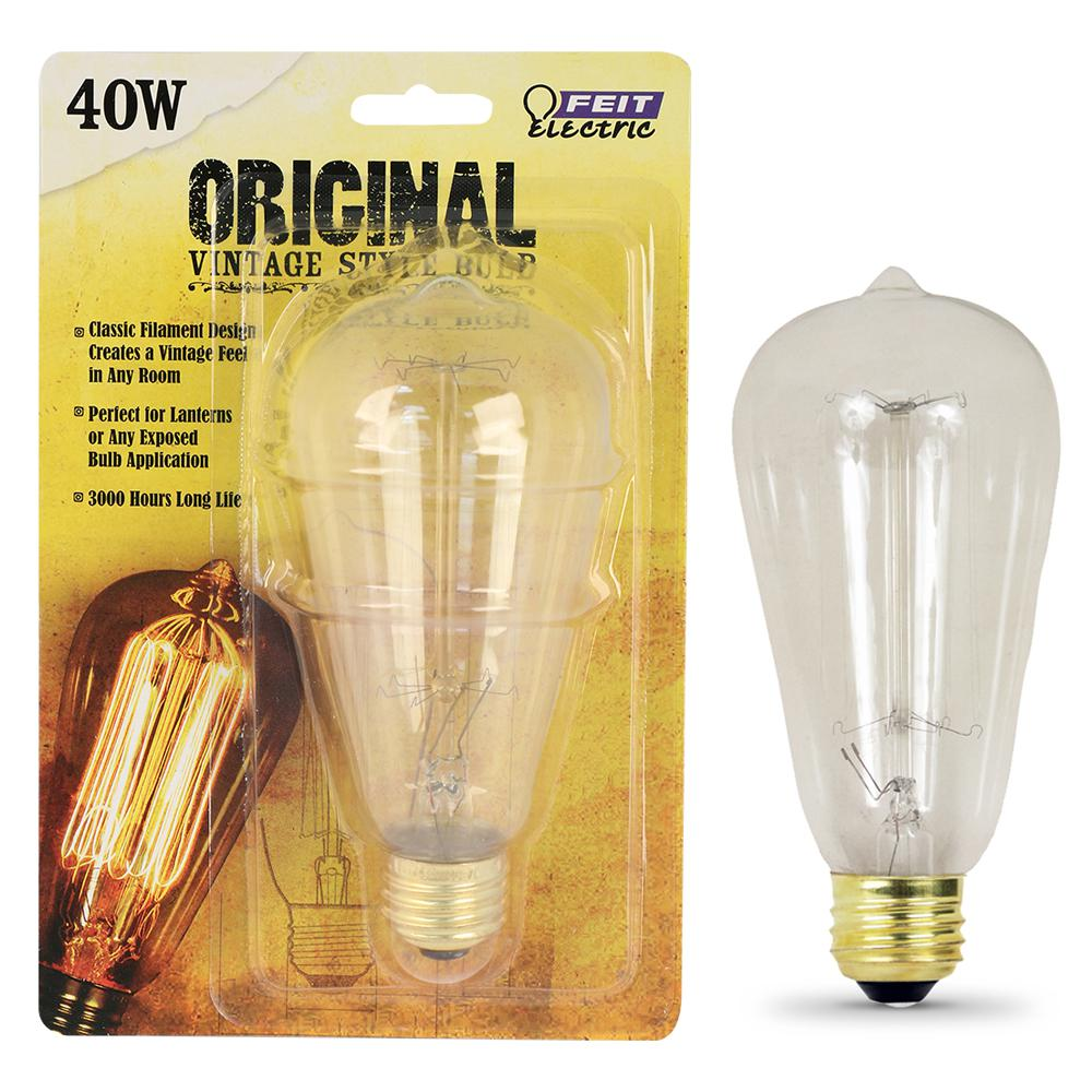 Buy Lightbulbs Incandescent Light Bulbs Light Bulbs The Home Depot