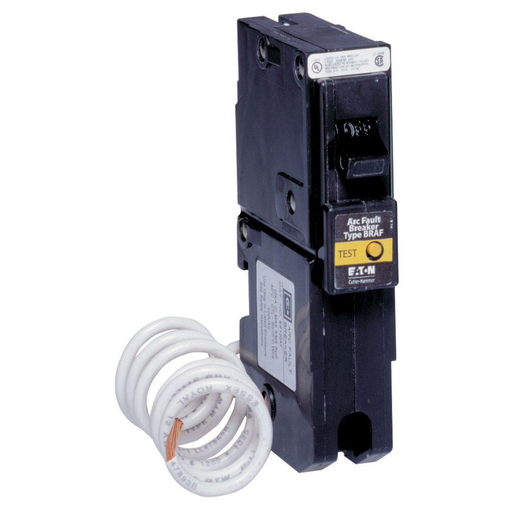 Eaton 15 20 Amp Single Auto Electrical Wiring Diagram Hammer Br115af Braf 15a 120v 1pole Arc Fault Circuit Breaker Pole Type Br Fireguard Afci
