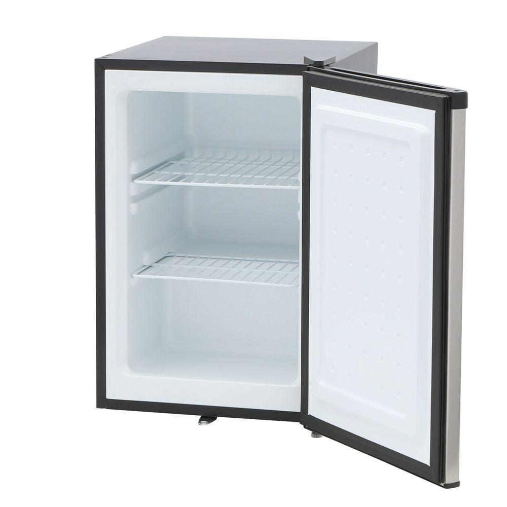 Small Stand Up Freezer Spt 2 1 Cu Ft Upright Freezer In Stainless Steel