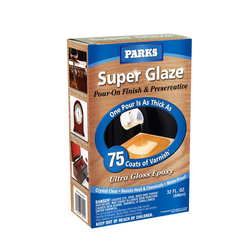 Rust Oleum Parks 1 Qt Gloss Super Glaze Finish And Preservative 241352 The Home Depot