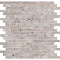 MSI Silver Splitface 12 in. x 12 in. x 10mm Travertine ...